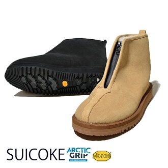 The SUICOKE Sui cook KENN Ken MOONLOID moon Lloyd comment color mouton boots suede genuine leather anti-slipping waterproofing Vibram ARCTIC GRIP boots winter shoes antibacteria which do not slip