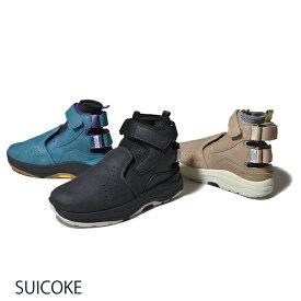 【10%OFFクーポン配布中】SUICOKE スイコック 2019 新作 OG-168 VIC スニーカーブーツ PUスエード