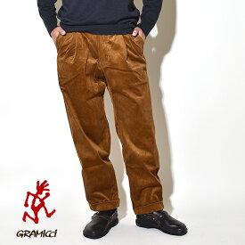 【20%OFFクーポン対象】グラミチ コーデュロイ タック テーパード パンツ メンズ クライミングパンツ ロングパンツ GRAMICCI CORDUROY TUCK TAPERED PANTS