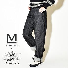 【50%OFF SALE セール】ANATOMICA アナトミカ マリリン 1 別注 ブラック 黒 618 MARILYN 1 デニムパンツ ジーンズ ハイウエスト マリリン・モンロー 日本製 MADE IN JAPAN
