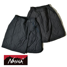 【20%OFFクーポン対象】ナンガ ダウン レディース スカート ひざ掛け NANGA 760FP スパニッシュダウン MADE IN JAPAN 日本製