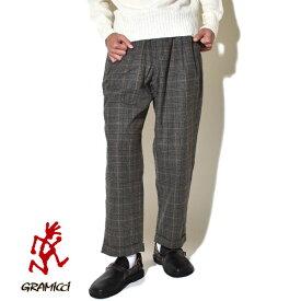 【20%OFFクーポン対象】グラミチ ウールブレンド タック テーパード パンツ メンズ GRAMICCI WOOL BLEND TUCK TAPERED PANTS