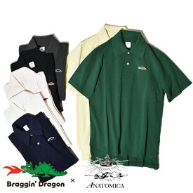 【50%OFF SALE セール】アナトミカ ブラギンドラゴン ANATOMICA ポロシャツ ロングテール ポロ Braggin Dragon メンズ レディース 日本製