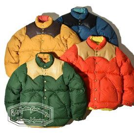 【40%OFF SALE セール】ロッキーマウンテンフェザーベッド ダウンジャケット メンズ レディース Rocky Mountain Featherbed DOWN JACKET 日本製