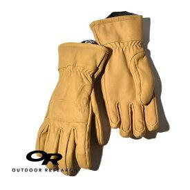 【20%OFFクーポン対象】アウトドアリサーチ アクセルワークグローブ 手袋 レザー 本革 防風 耐久 OUTDOOR RESEARCH