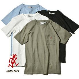 【10%OFFクーポン対象】グラミチ Tシャツ ワンポイント S/S Tシャツ ポケT ポケTEE GRAMICCI ONE POINT S/S TEE 1948-STS メンズ レディース ランニングマン