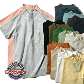 【国内正規品】 2021年モデル グッドウェア Goodwear ポケT TEE ポケット Tシャツ 白T 丸胴 ホールガーメント アメリカ製