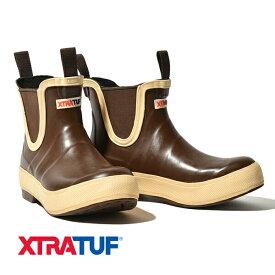 【20%OFFクーポン対象】エクストラタフ XTRATUF サイドゴア ブーツ レガシーデッキブーツ 長靴 ショート丈 レガシーコレクション Legacy Deck Boot メンズ レディース ユニセックス