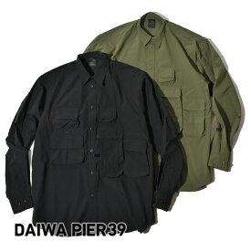 DAIWA PIER39 DAIWA PIER 39 ダイワピア サーティナイン テック アングラーズシャツ シャツ フィッシングシャツ メンズ TECH ANGLER'S SHIRTS L/S DAIWA PIER39 [ダイワピア]