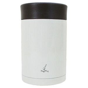 スープマグ ステンレス スープジャー 真空二重構造 内面セラミックコーティング モグモグ スープ&シチュー 400ml MM-403 ホワイト 2894