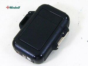 送料無料(北海道沖縄離島除く)ウインドミル ターボライター Zag ブラック(0009)x1個
