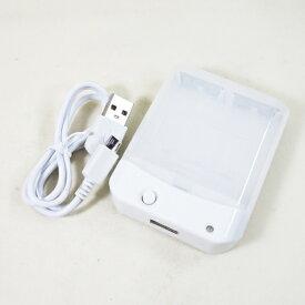 乾電池式スマホ充電器 電池交換充電器 乾電池式モバイル充電器 充電器・バッテリー類 HD-AA4WHM 1071 HIDISC