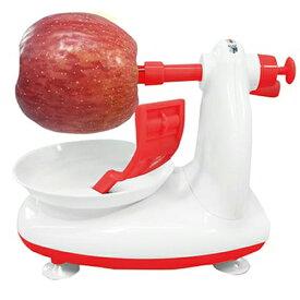 皮むき器 リンゴ 梨 あっという間につるっとむける つるっとりんご MCK-111/送料無料(北海道沖縄離島除く)