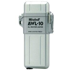 『送料無料(沖縄離島除く)』ウインドミル AWL-10 ターボライター 白ベロア