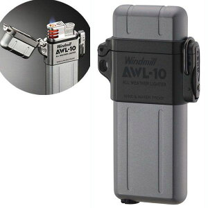 『送料無料(沖縄離島除く)』ウインドミル AWL-10 ターボライター ガンメタル