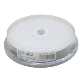送料無料メール便 BD-R DL(片面二層)録画用6倍速 50GB 10枚入り スピンドルケース HIDISC BDRDL10P-CR/0925x1個 ポイント消化