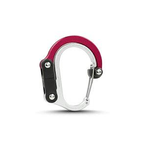 ヒーロークリップ ミニ HEROCLIP MINI カラビナ バッグハンガー ハイマウント 国内正規品 HOT ROD RED/6705x1個