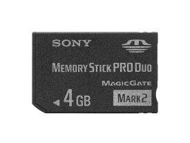 ソニー メモリースティック プロデュオ PRO Duo 4GB MS-MT4G/送料無料(北海道沖縄離島除く)memory