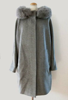 フーテッドコート [Max Mara] with the MAXMARA STUDIO Angola blend fur