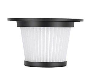 コードレス掃除機 MooSoo K17 最新型/改良型用フィルター 水洗い可能 ホワイト 消耗品
