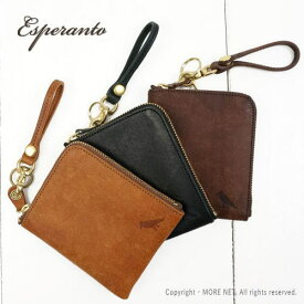 2点以上で10%OFF対象(〜4/16 9:59)/エスペラント esperanto プエブロレザー ミニウォレット ESP-6237 メンズ 日本製
