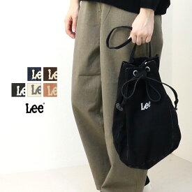 [SALE セール] リー Lee ドローストリングバッグ LA0360 レディース 巾着 デニム コーデュロイ [返品・交換不可]