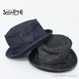 シュガーケーン SUGAR CANE 10オンスデニム ポークパイハット SC02466 メンズ レディース 日本製 帽子