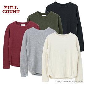 フルカウント FULLCOUNT ヘビーウェイトワッフルサーマルTシャツ 5964-19 メンズ 日本製 長袖 無地