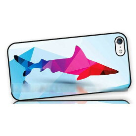 【送料無料】 スマホケース 鮫 サメ シャーク アートケース 保護フィルム付 iPhone Galaxy iPod iPad Xperia Nexus LG HTC OPPO スマートフォン カバー 【受注生産】