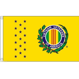 【送料無料】 国旗 アメリカ USA ベトナム戦争退役軍人会 150cm × 90cm 特大 フラッグ 【受注生産】