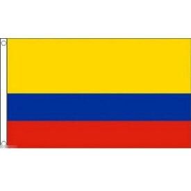 【送料無料】 国旗 コロンビア共和国 150cm × 90cm 特大 フラッグ 【受注生産】