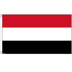 【送料無料】 国旗 イエメン共和国 中東 アラビア半島 150cm × 90cm 特大 フラッグ 【受注生産】
