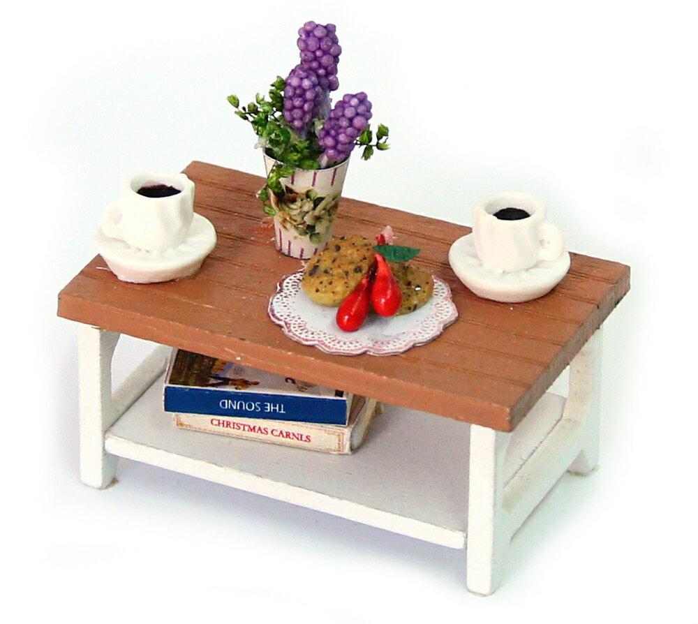 ドールハウスキット ミニチュアキット 工作キット 雑貨おもしろ 雑貨レトロ インテリア雑貨 木製 テーブル