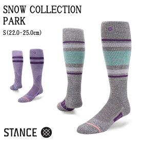 STANCE スタンス SNOW COLLECTION PARK SOCKS ソックス レディース スノーボード スキー 【モアスノー】