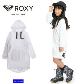 ROXY ロキシーMINI JIVY DRESS ワンピース 一枚でコーデ完成 ガールズ レディース キッズ ジュニア 子供【モアスノー】