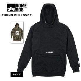 ROME ローム RIDING PULLOVER ライディングプルオーバー 2019 ウェア スノーウェア スキーウェア【モアスノー】