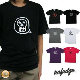 unfudge アンファッジ TM T-SHIRTS ドライ Tシャツ アウトドア スノーボード スケートボード ジュニア ユース【モアスノー】