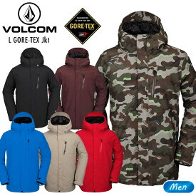【アウトレット特価】ボルコム ウェア VOLCOM 2021 20-21 エルゴアテックスジャケット L GORE-TEX JKT スノーボード スノーウェア スノボ【モアスノー】