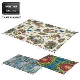 BURTON バートン Camp Blanket キャンプブランケット 18-19 2019 レジャーシート キャンプ アウトドア【モアスノー】