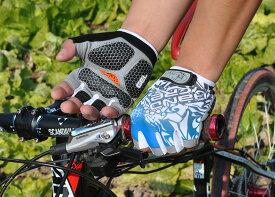自転車グローブ サイクルグローブ サイクリンググローブ サイクリンググローブ 世界中累計出荷数200000個突破 HANDCREW ハーフ GEL入り SS-8-2