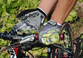 HANDCREW 自転車グローブ サイクルグローブ サイクリンググローブ 世界中累計出荷数100000個突破 フルーフィンガー GEL入り OSCAR2 SF-3-2