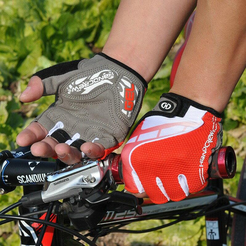 HANDCREW 自転車グローブ サイクルグローブ サイクリンググローブ ハーフ GEL入り SS-5