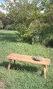 一枚板 無垢のベンチ120cm 天然木 スツール 長ベンチ 椅子