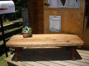 一枚板 ローテーブル 木製 カフェ テーブル ちゃぶ台 センターテーブル ソファーテーブル110cm又は120cm無垢 座卓 丸脚タイプ 天然木テーブル 無垢テーブルリビングテーブル 一枚板家具 高さ