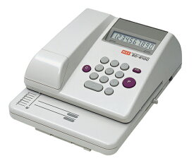 マックス 電子チェックライタ 10桁 コードレスタイプ EC-610C [ EC90003 ]