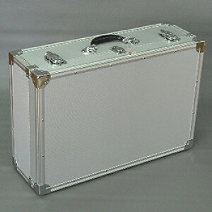 マスミ鞄嚢 アルミトランクケース 大型 内寸575×376×蓋57/本体124mm シルバー EN-60