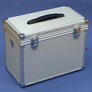 マスミ鞄嚢 特殊アルミケース(カメラケース) 内寸365×186×蓋30/本体250mm シルバー SN-39