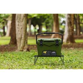 ICELANDCOOLER Hard Cooler Box(ハードクーラーボックス) 20QT(18.9L) Army Green(アーミーグリーン)