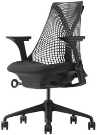 HermanMiller SAYL Chairs(セイルチェア) サスペンションミドルバック ブラック AS1YA23AAN2BK