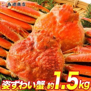かに 蟹 カニ 高級カナダ産 特大 ボイル済み 姿ずわい蟹2尾セット約1.4kg 送料無料 お取り寄せグルメ ギフト